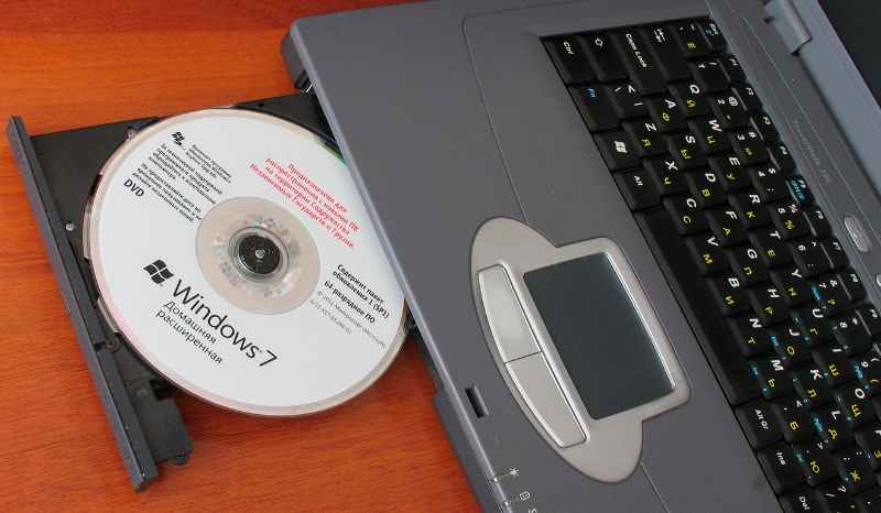 комп и диск